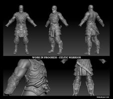 Celtic Warrior WIP01 by Texelion