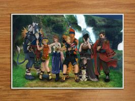 Final Fantasy X Group photo by Refielle