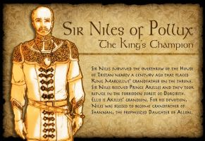 Sir Niles Character Page by TheLadyNerd