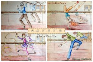 The Big Four Dance Practise by CessieRose25