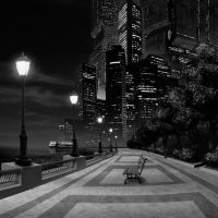 BATTERY PARK FUTURE NOIR by HenryPonciano