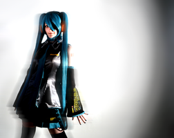The Virtual Diva, Hatsune Miku by WhatTheFoxBecca