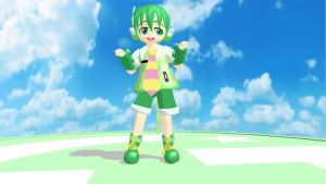 MMD Newcomer Gachapoid by Pokeluver223