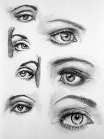 Eye Practice by PMucks