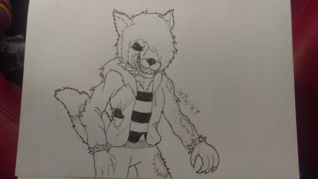 Psycho wolf by KageJason