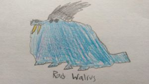 The Rad Walrus by SomeCrazyDingus