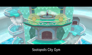 Sootopolis City Gym?! by Zenionith