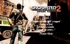 Uncharted 2 Wallpaper 2 by CrossDominatriX5