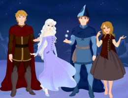 The Last Unicorn group picture by Arimus79