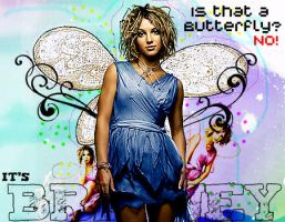 I'ts britney or a butterfly? by mrjmendes