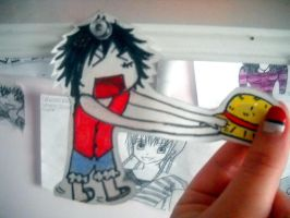 Paper Children: Luffy. by HeavenlyWitchx