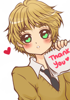 Thank you! by Crispelter