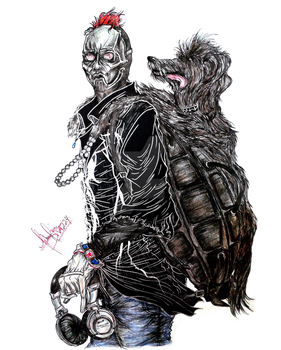 Slipknot: Sid Wilson and Fred Wilson by divadonna224