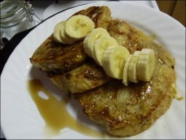 French Toast with Bananas by raspil