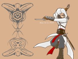 Chibi Death Machine: Altair by Mayuhaku