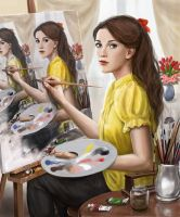 Painting painting painting... by dashinvaine