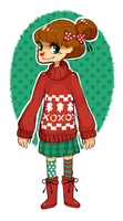 xmas sweater by xtraZenny