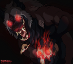 Anthro YCH - ice-cold-werewolf by Therbis