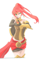 Rwby - Pyrrha by FreezingCicada