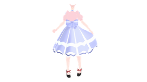 .:dress wip damn:. by StylinSorrowMMD