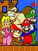 Mario and Friends by mkeaston77