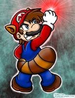 Collab: Raccoon Mario by HamSamwich