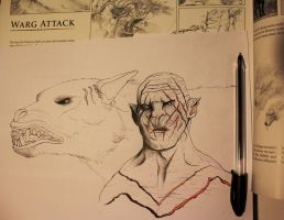 Azog the Defiler by Gutter1333