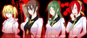 Corpse Party Fangame Sprites (Girls) by Katon-Harouxi