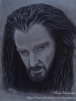 Thorin II Oakenshield (The hobbit) by ochopanteras