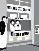 Women's Suffrage by SeeMooreDesigns