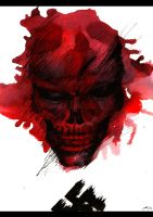 Red Skull by Entiman