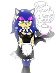 Maid Sonica by XEver-Blue-ZoneCopX