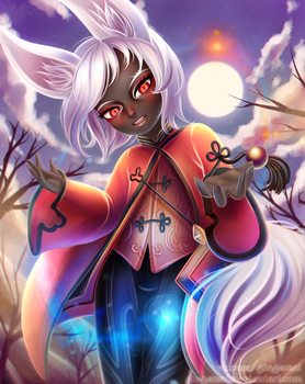 Blade and Soul Lyn Force Master by gingersai
