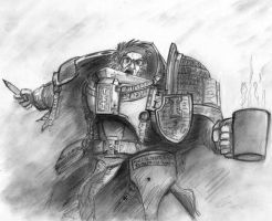 My Grey Knight by Thurosis