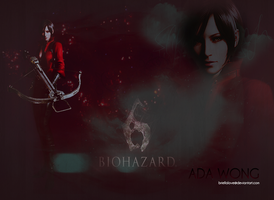 Ada Wong Wallpaper RE6 by BriellaLove