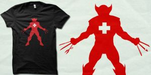 wheapon-Swiss tshirt by biotwist