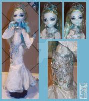 OUaT Siren outfit for MH doll by DojiArai