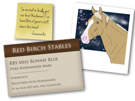 #3447 Miss Bonnie Blue* by catpuccinos