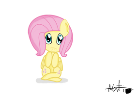 Fluttershy love you by mlppinkie1