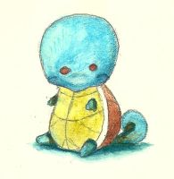 Squirtle by Strawberrybay26