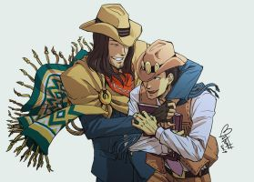 Marshall Brothers by spacecoyote