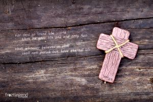 Wooden Cross - Quote by froztlegend