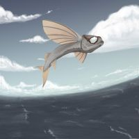 Flying Hell Fish by Dubhghall