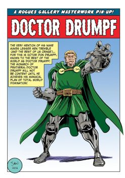 Doctor Drumpf! by Simon-Williams-Art