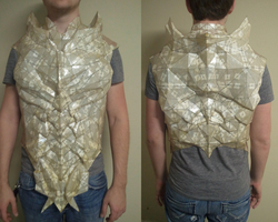 Daedric Armor Progress by Kuraudo3