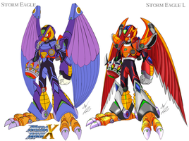 Storm Eagle & Storm Eagle L Style KE color by GunZcon