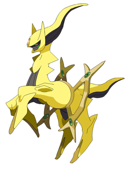 'Shiny' PowerPoint Arceus by Jphyper