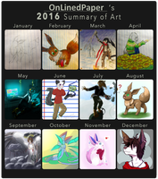 2016 Art Summary by OnLinedPaper
