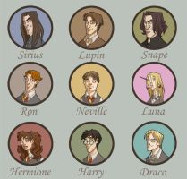 Potter and co by kyla79
