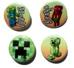 minecraft buttons by michellescribbles